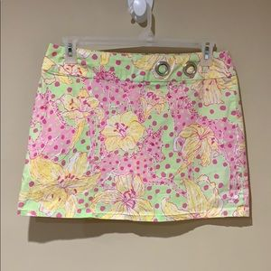 🧩HP🧩Lilly Pulitzer skirt w/shorts